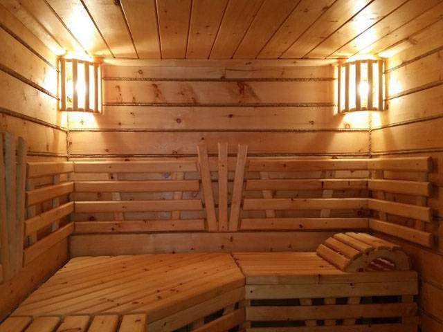 Как сделать качественное и безопасное освещение в бане