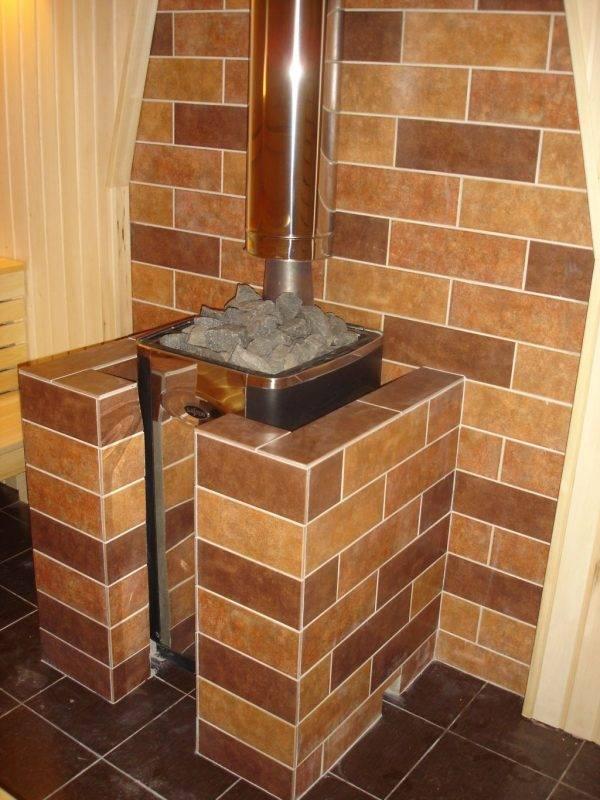 Не причуда, а необходимая мера безопасности: как обложить железную печь кирпичом?