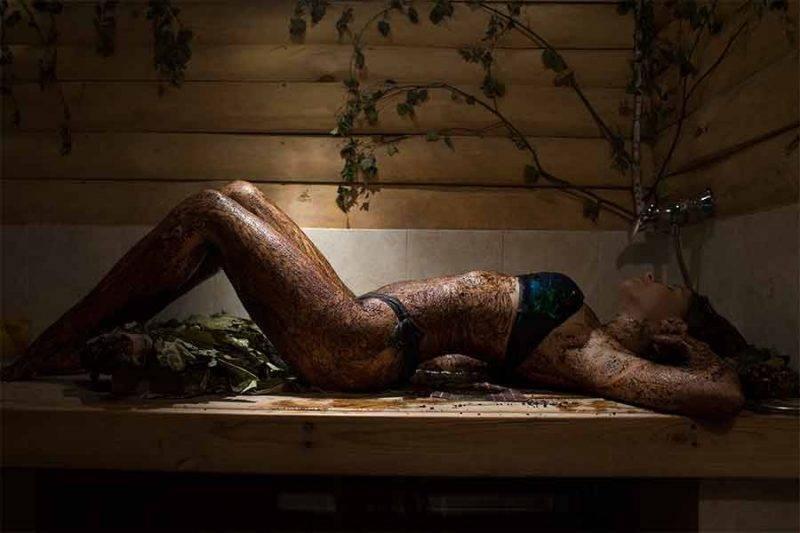Массаж в бане: как делать, виды и польза для здоровья