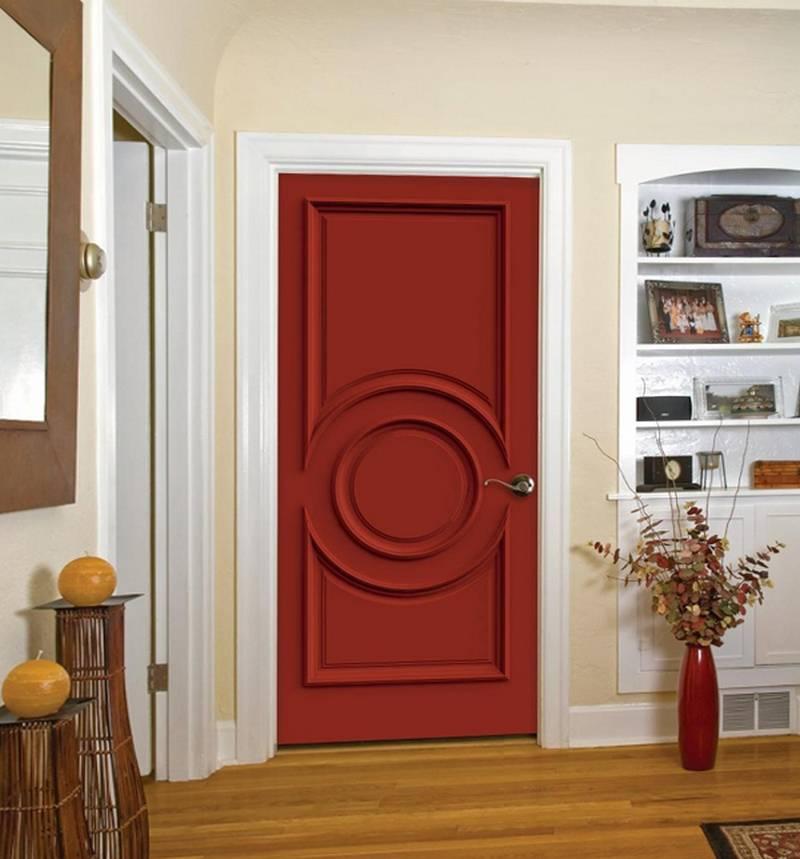 Темные двери в интерьере квартиры: 60 современных фото и идей