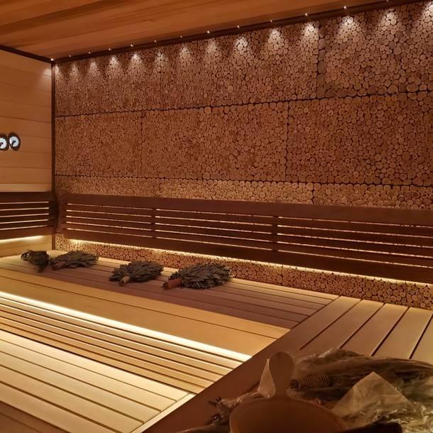 Отделка парной в бане своими руками – от пола до потолка