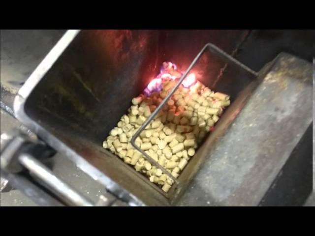 Как сделать печь на пеллетах своими руками