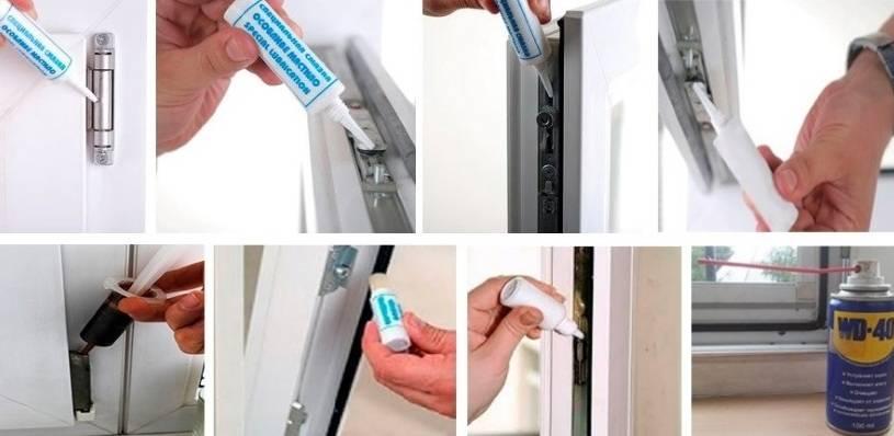 Чем смазать пластиковые окна, чтобы они не потели
