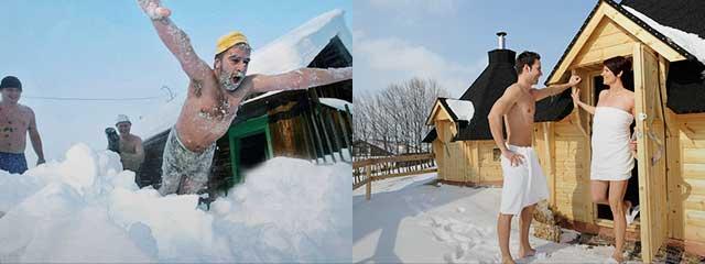 Закаливание снегом создаст защитную иммунную оболочку