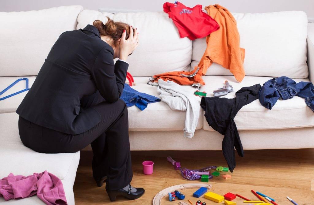 О чем говорит беспорядок в доме