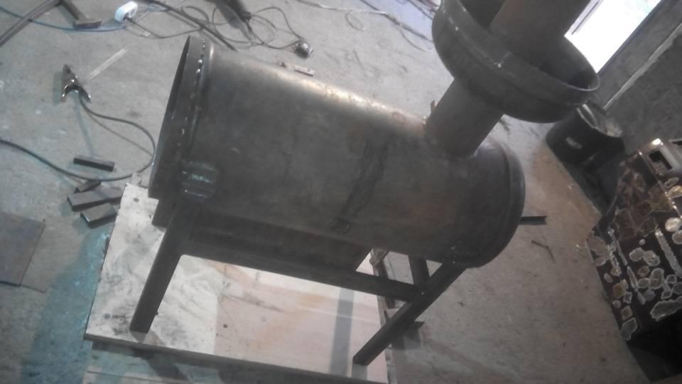 Печь ракета своими руками: инструкция