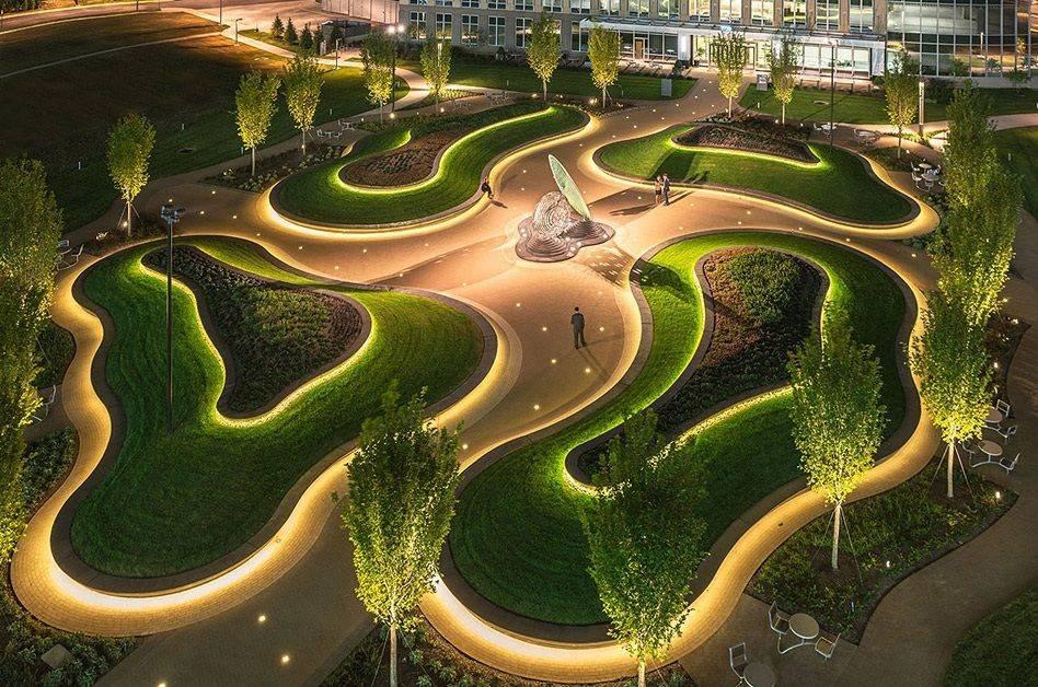 Лучшие городские парки мира - самые красивые, большие и известные   brave defender