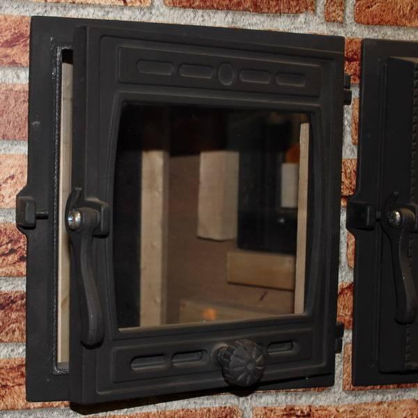 Не только надежно, но и красиво: что нужно знать при изготовлении дверцы для печи со стеклом своими руками?