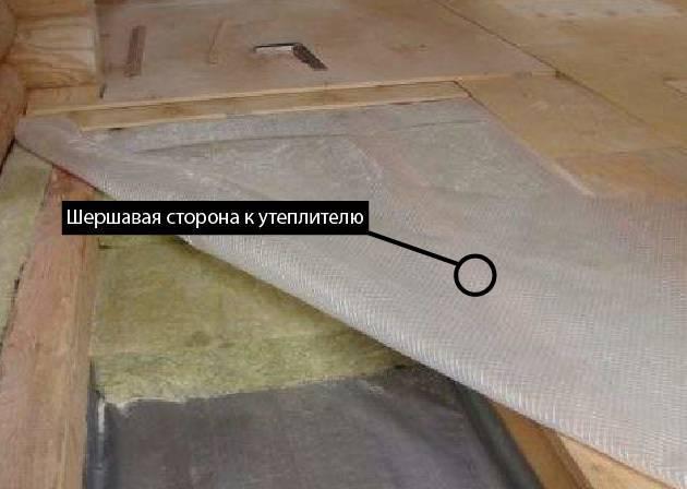 Правильная укладка пароизоляции на крыше - этапы и технология работ