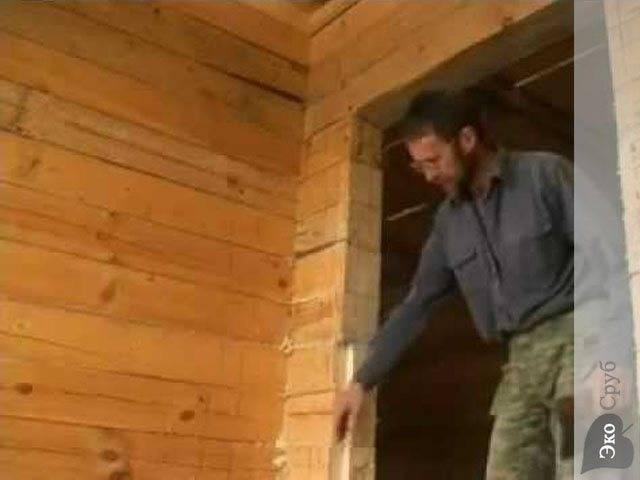Как заложить оконный проем в деревянном доме