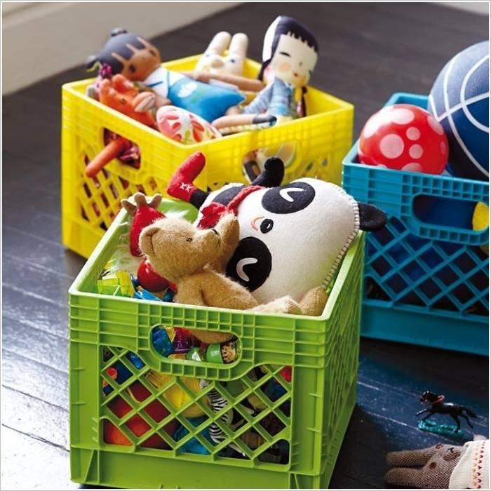 Как хранить мягкие игрушки в детской комнате (идеи и способы)