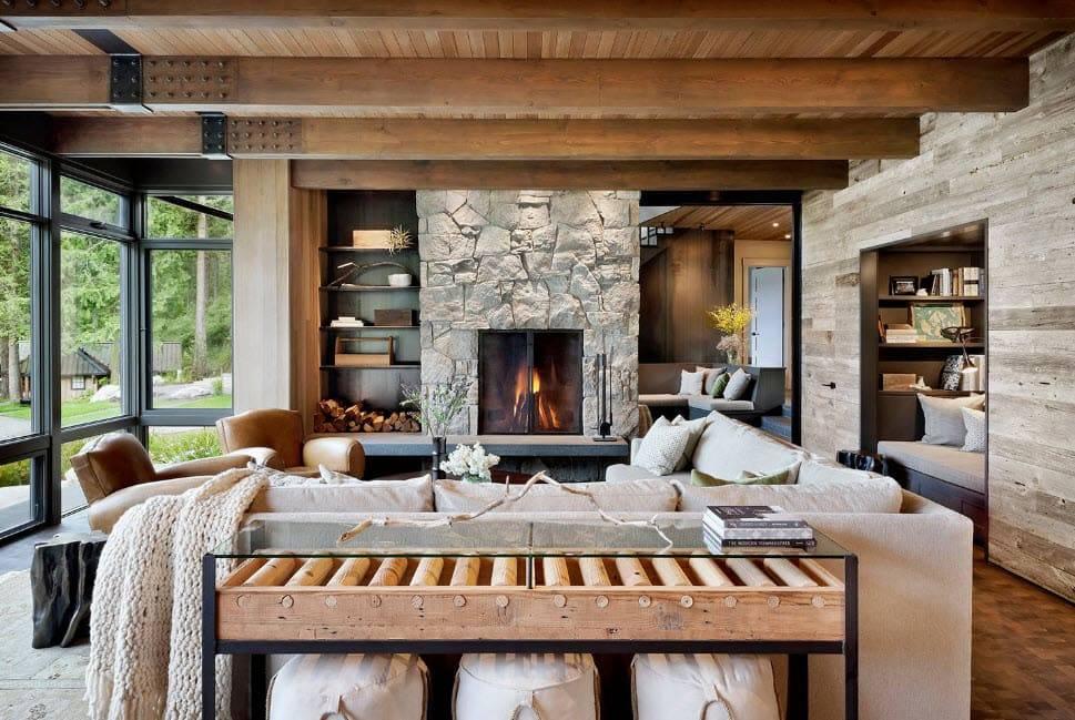 Стиль шале (104 фото): что это такое в интерьере? дизайн штор в швейцарском стиле, современный стиль в домах из клееного бруса и внутри квартир