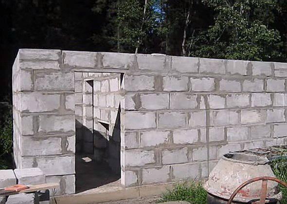 Баня из пеноблоков своими руками — возводим строение из чудо-кирпичей нового поколения