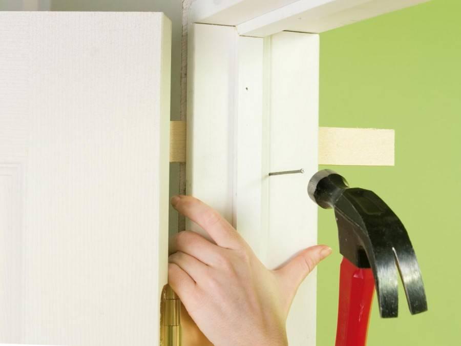 Как установить межкомнатные двери