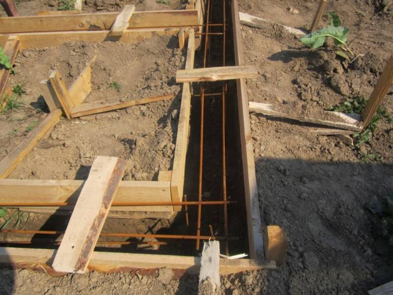 Ленточный фундамент для бани 4х6 своими руками: как определить цену строительства и возвести основание самостоятельно?