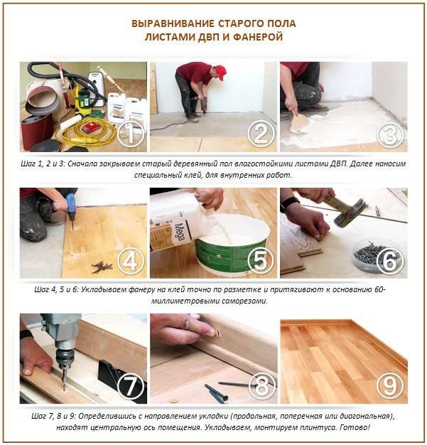 Как перестелить деревянный пол в квартире: полная замена деревянного пола с пошаговым процессом