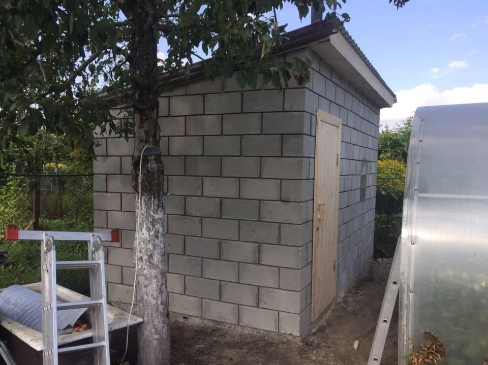 Баня из керамзитобетонных блоков (31 фото): плюсы и минусы, делаем проект и строим своими руками