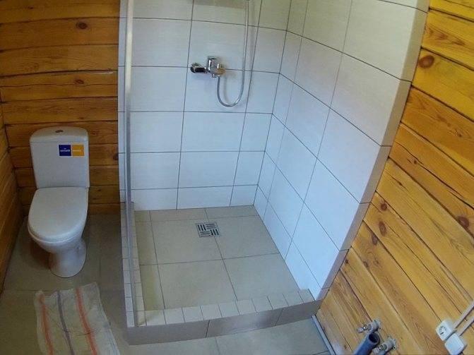Душ в бане своими руками, как сделать планировку помывочной