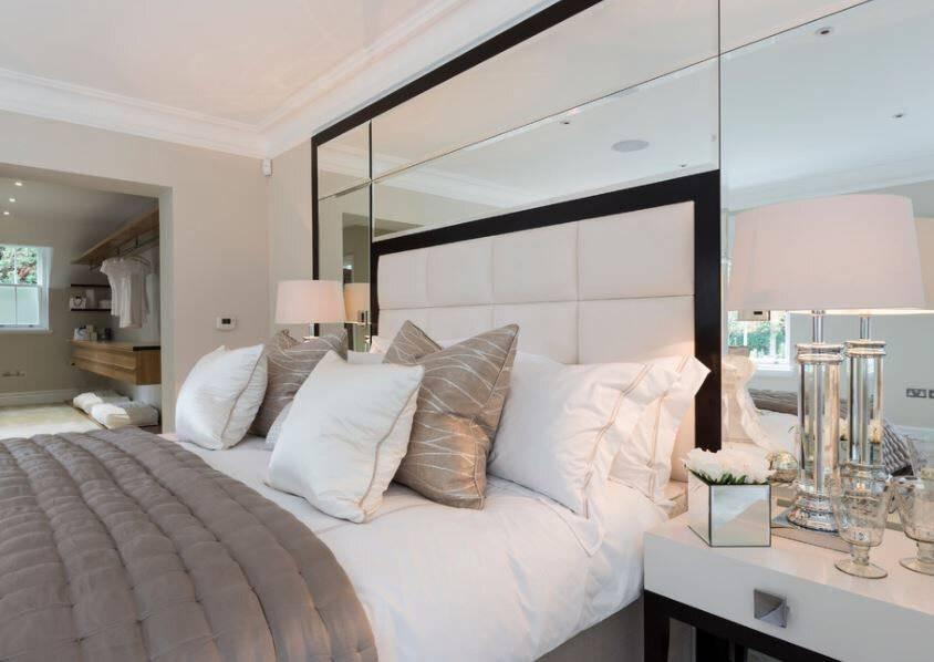 Основные правила размещения зеркала в спальне (+19 фотопримеров)