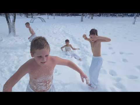 Полезные свойства обтирания снегом