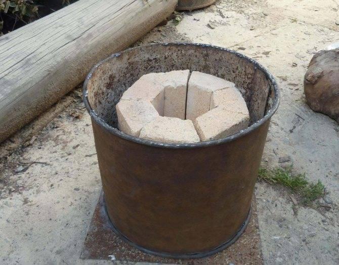 Изготовление муфельной печи для плавки и закалки металла своими руками