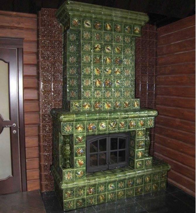 Изразцы для печи 57 фото что это такое, как называется облицованная модель, виды печных украшений для комнатных русских печей и каминов