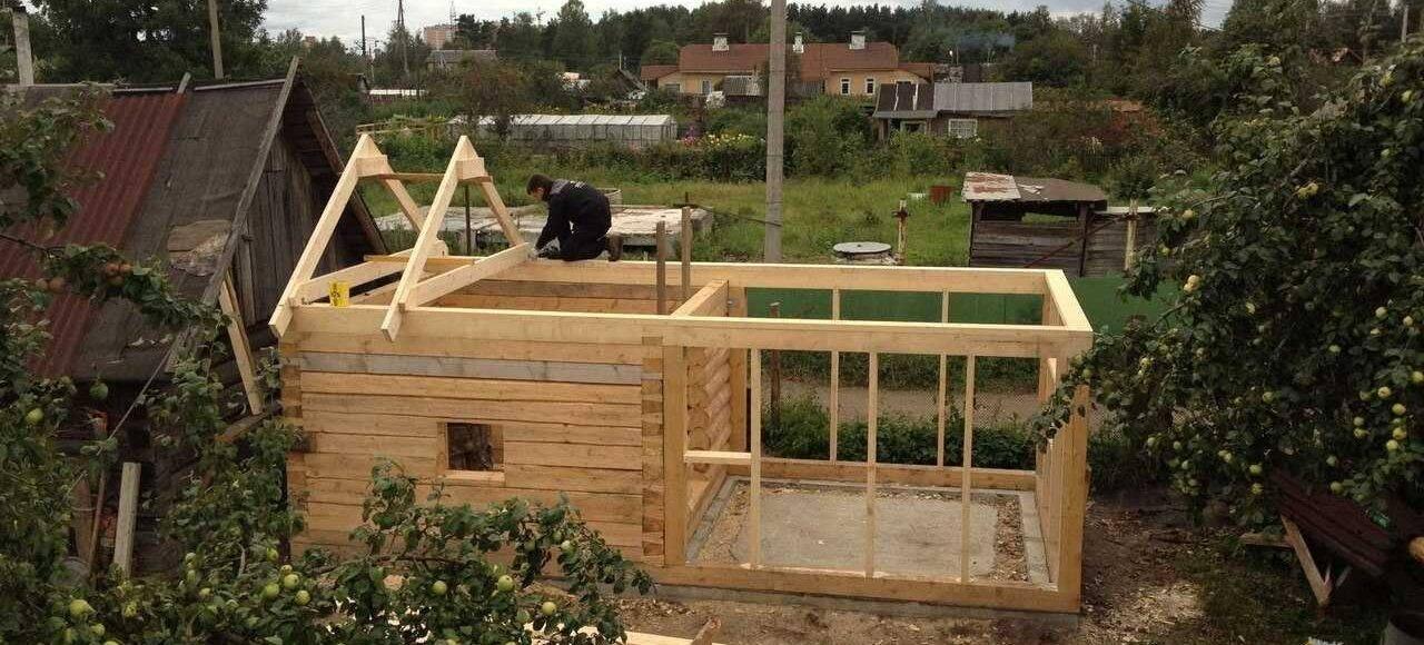 Принципы возведения бани на даче
