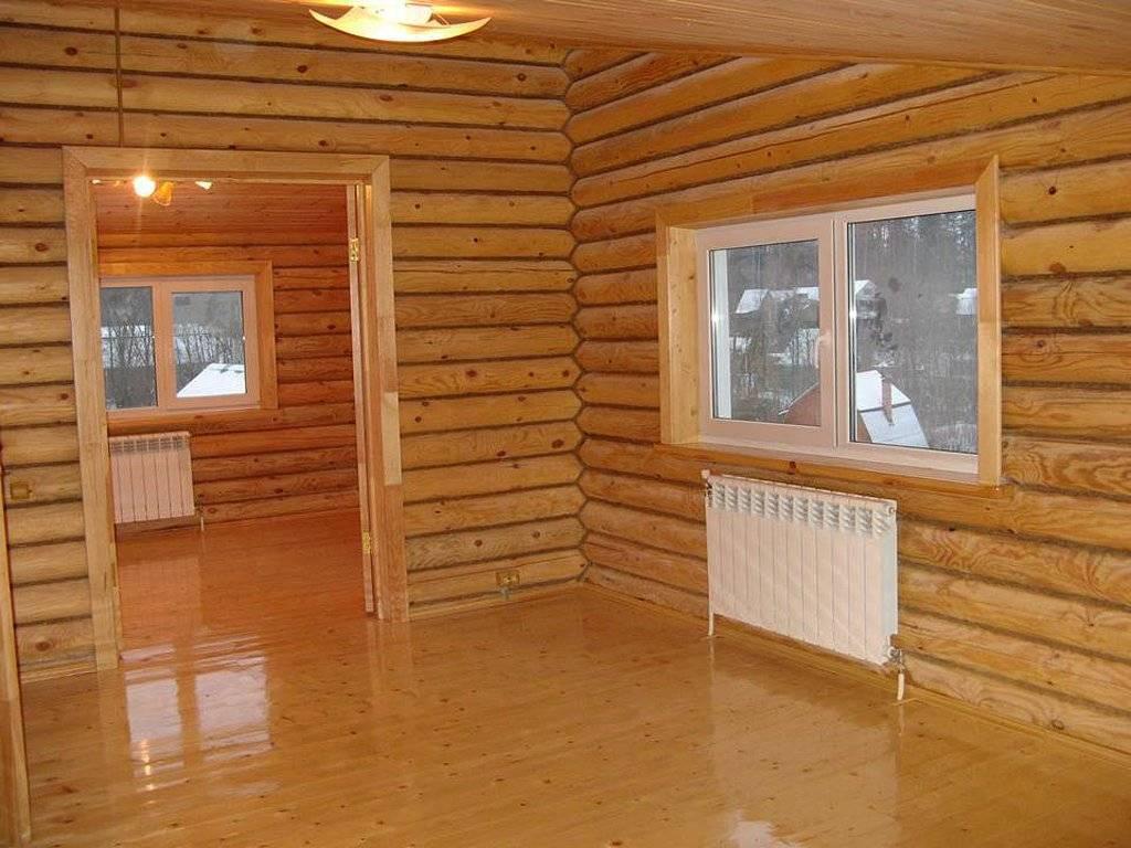 Чем покрасить брус внутри дома — выбираем краску, защитный состав и анализируем цены