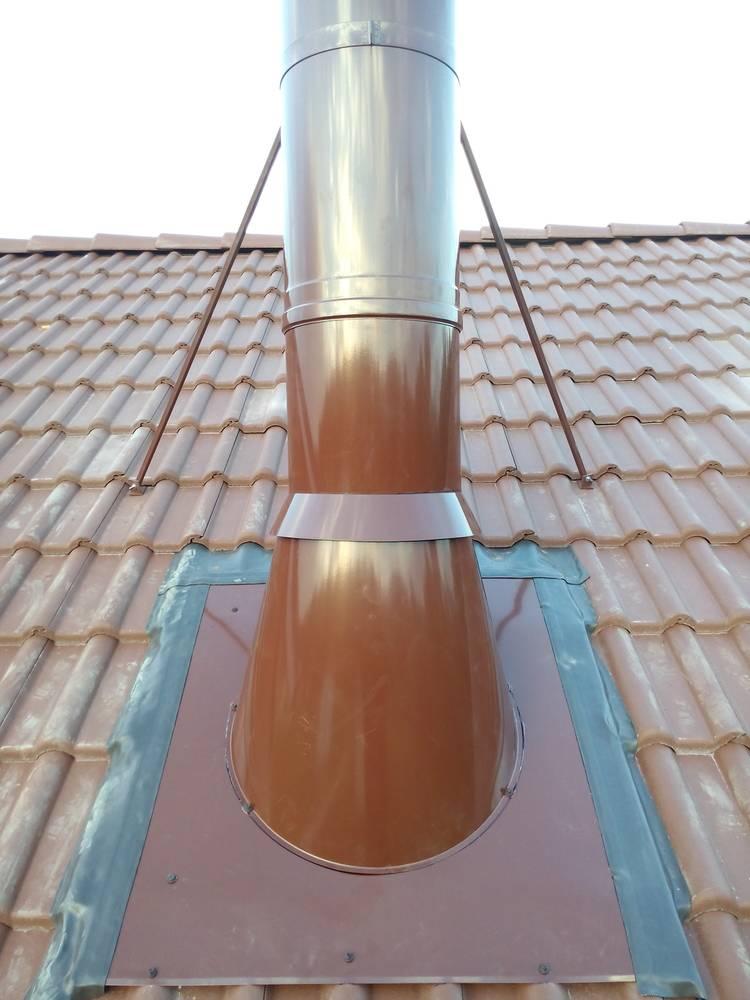 Как сделать проход трубы через потолок – пошаговое руководство от мастера