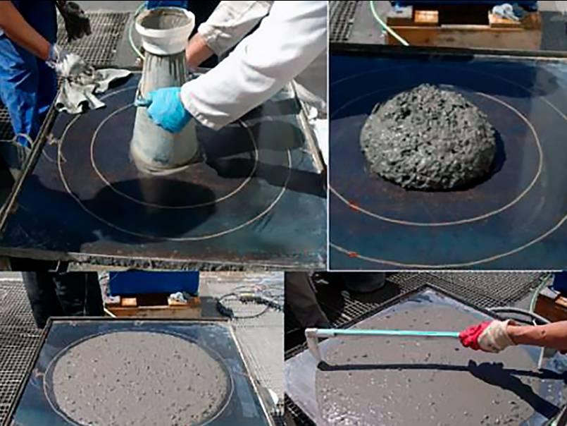 Как проверить качество бетона после заливки