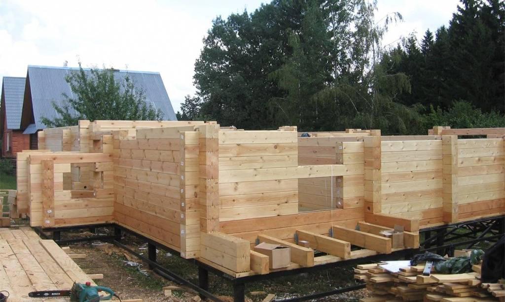 Дачный спа: строим баню из бруса своими руками