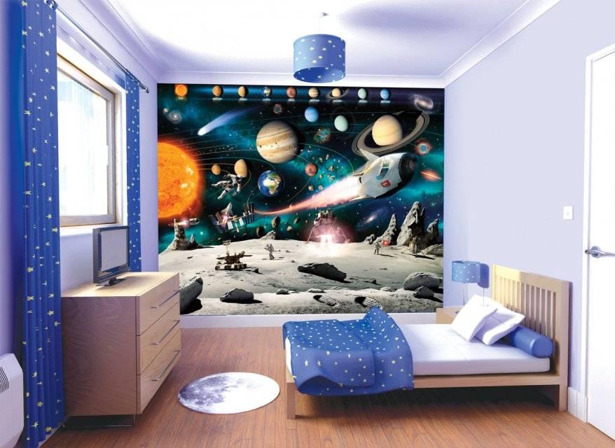 Космический стиль в интерьере: лучшие идеи оригинального дизайна