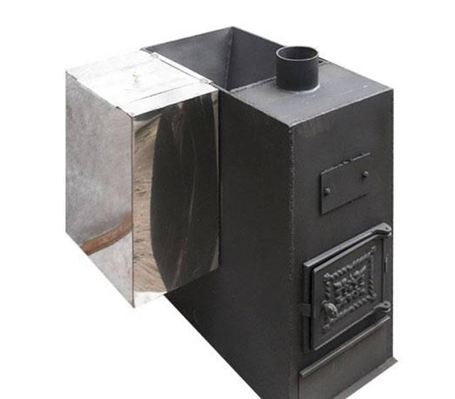 Печи для бани из нержавеющей стали: дровяные