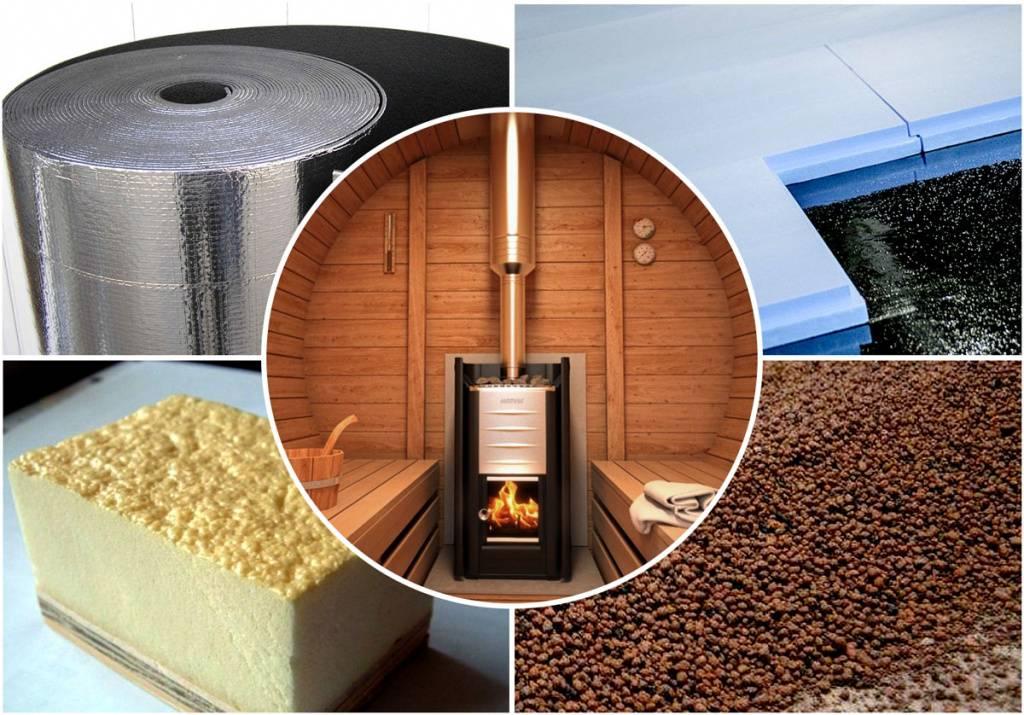 Негорючие материалы для бани: утеплитель, отделка стен, потолка, дымохода, печи