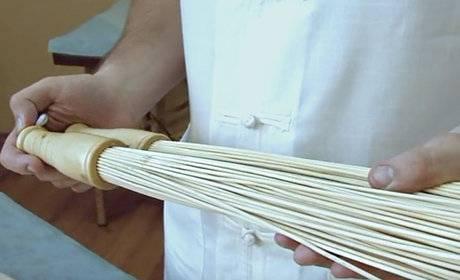 Бамбуковый веник для бани: как им пользоваться и проводить массаж
