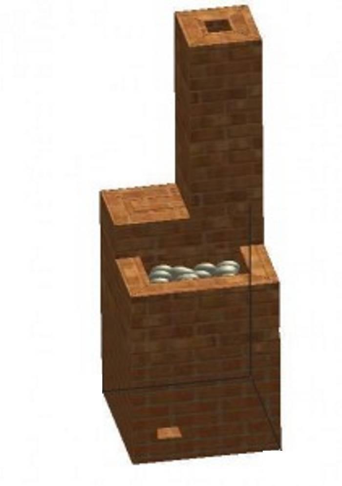 Кирпичик к кирпичику: печь для бани по всем правилам