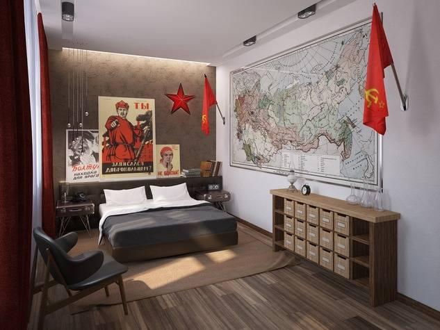 Советская мебель: история развития, стили и фото