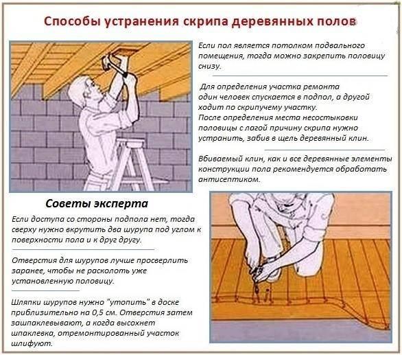 Ремонт деревянного пола в квартире своими руками: чиним все сами