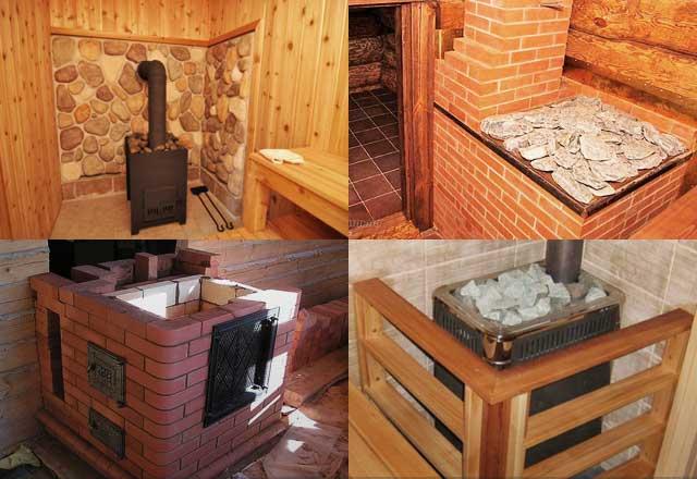 Каменка для бани своими руками - как сделать печь-каменку + фото