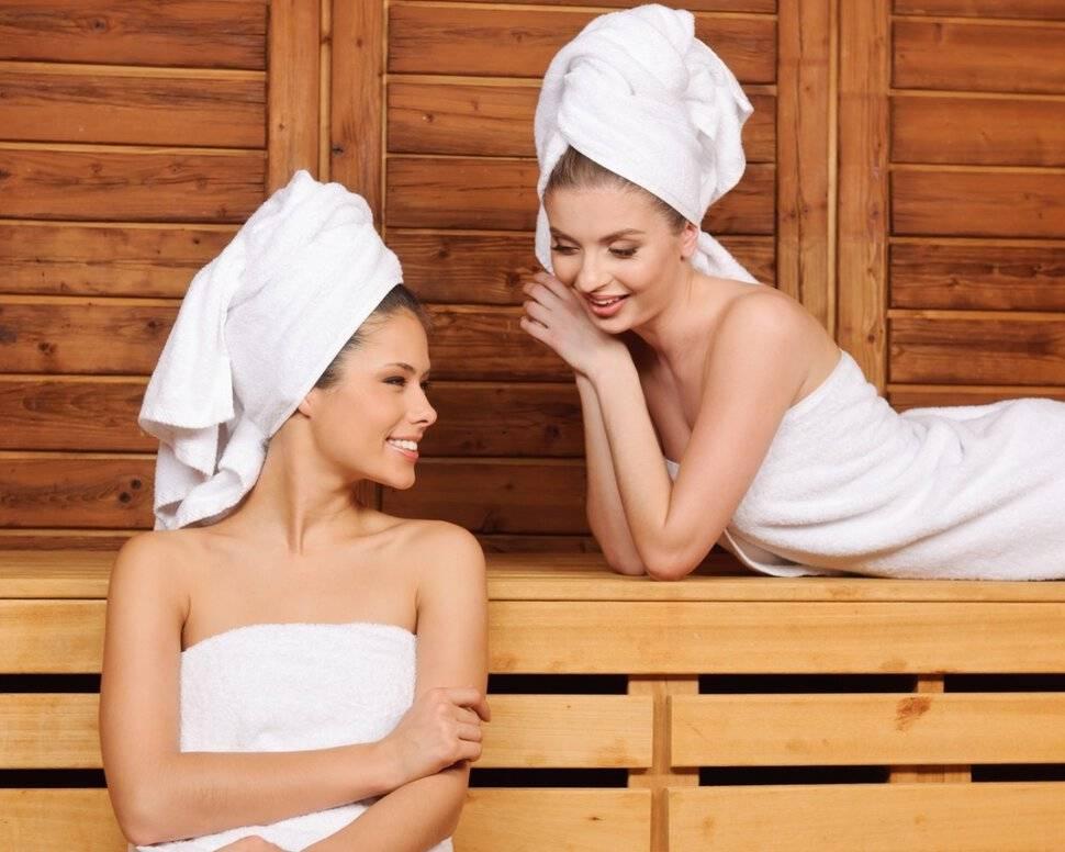 Можно ли при температуре париться в бане?