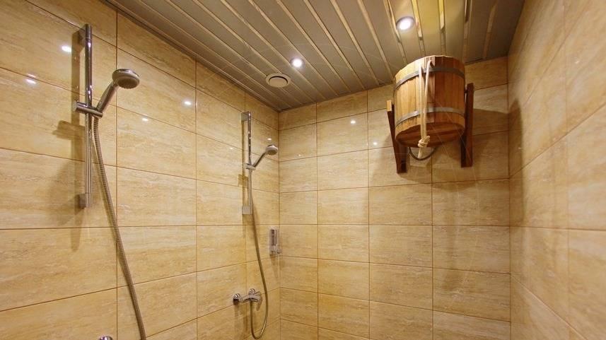 Фото помывочной в бане - примеры отделки и планировки помывочной