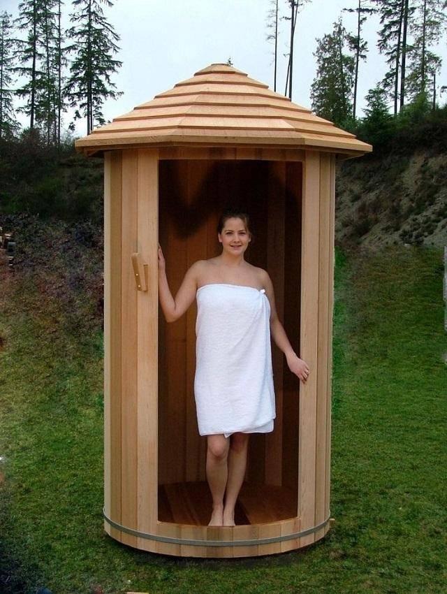 Летний душ своими руками: 105 фото размещения душа в ландшафтном дизайне