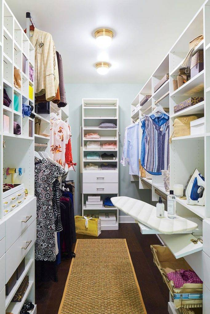 (75+ идей) шкаф для пылесоса и гладильной доски [обзор вариантов #2019]