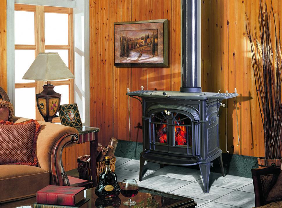 Чугунная печь для дома и дачи: длительного горения, на дровах, отопительная печка дровяная