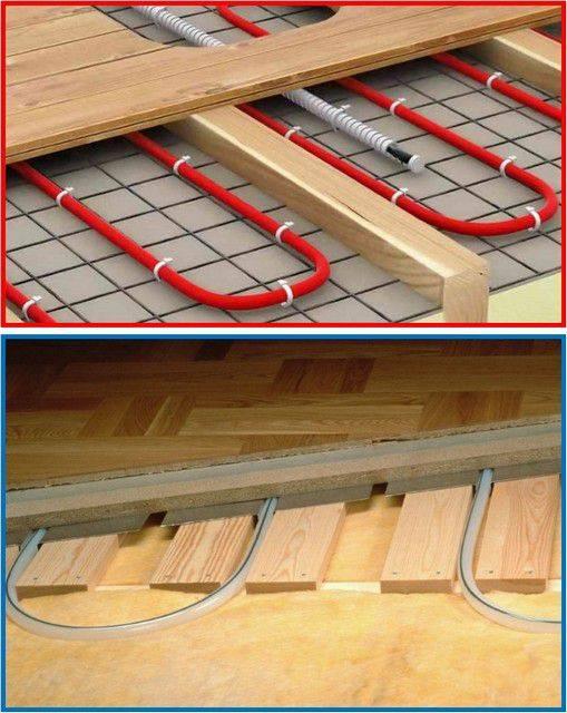 Теплый пол на деревянный пол - как сделать деревянный пол теплым?