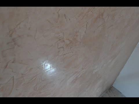 Покраска под мрамор – один из способов декорирования поверхности стен или искусственного камня