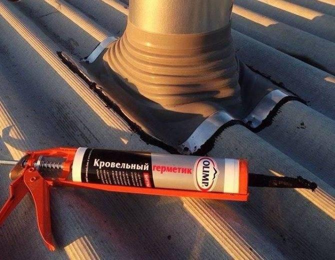 Как заделать трещину в шифере на крыше — излагаем суть