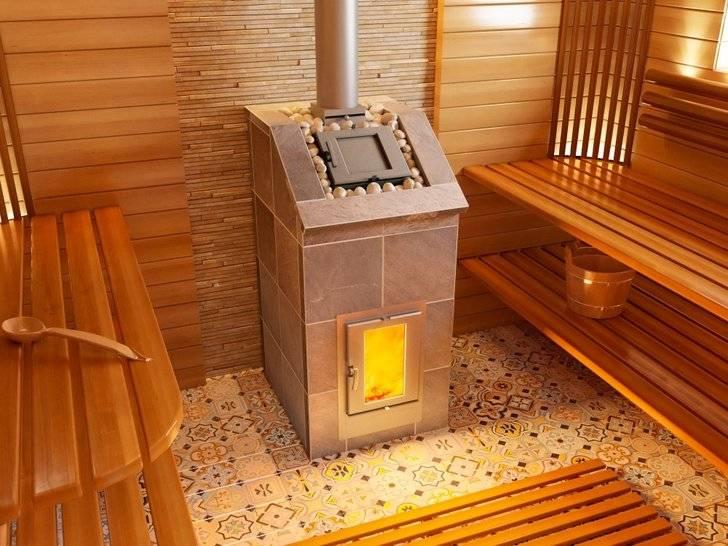 Рейтинг печей для бани на дровах: 10 лучших