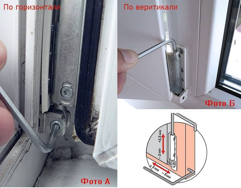Самостоятельная регулировка пластиковых окон – инструкция, как отрегулировать пластиковое окно самому