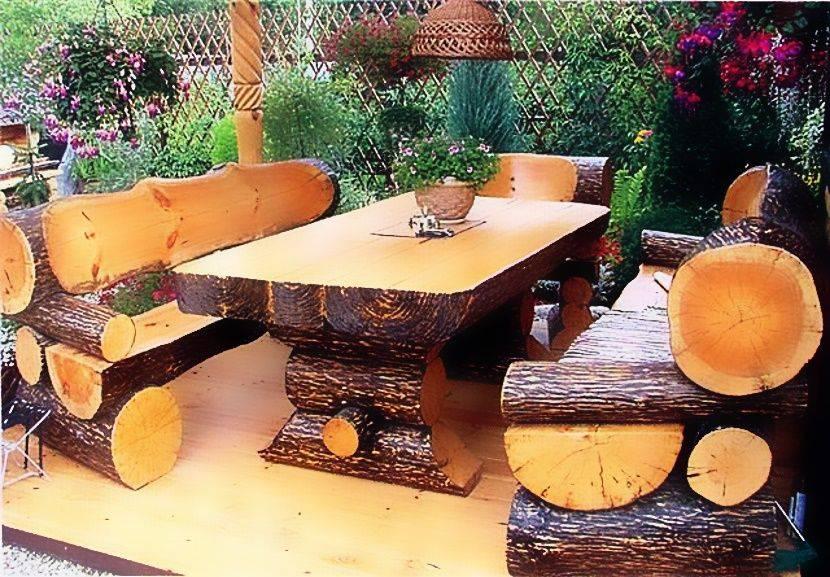 Садовая мебель своими руками из дерева, поддонов +фото, чертежи, схемы